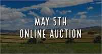 May 5th, 2021 Online Auction
