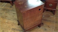 Small antique end table with drawer