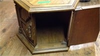 Small octagon end table