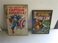 MARVEL COMIC POSTERS