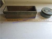 CHEESE BOX & SMALL ROUND TIN