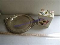 COOKIE JAR & SERVING TRAYS