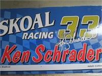 KEN SCHRADER RACING CAR