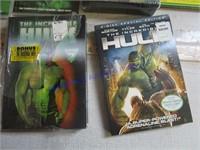 HULK DVD'S