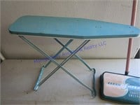 TOY IRONING BOARD & SWEEPER