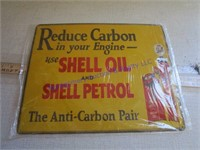 SHELL OIL & PETROL SIGN