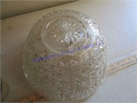 GLASS PUNCHBOWL
