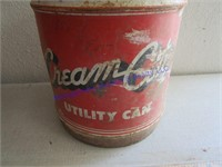 CREAM CITY UTILITY CAN