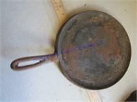 CAST IRON FRYING PANS