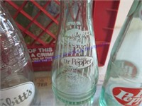 GLASS POP BOTTLES