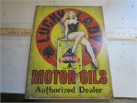 ADVERTISING OIL
