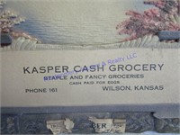 SIGN- KASPER GROCERY