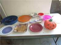 DISHES & PUMPKIN