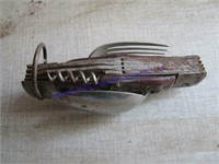 OLD KNIFE & PADDALOCK