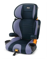 Chicco KidFit 2-in-1 Booster Car Seat, Celeste