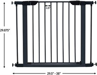 "Pet Safety Gate; 29"" & 39"" Tall"