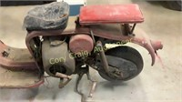 SILVER PIGEON MOPED