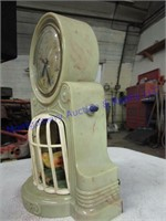 PARROT IN CAGE CLOCK