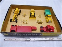 Die-cast Tootsietoy Road Construction set - #4330