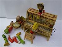 "Tin - wind-up - Unique Art Toy Co. - 1946 - ""'Lil"