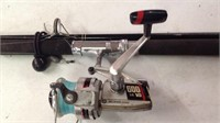 Helicon Gear Olympic 600 LG VO reel & rod