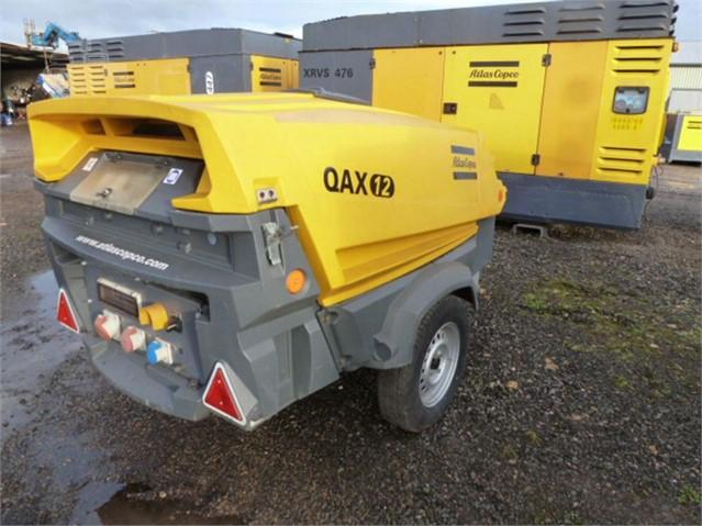 2008 ATLAS COPCO QAX12 at www.used-compressors.co.uk