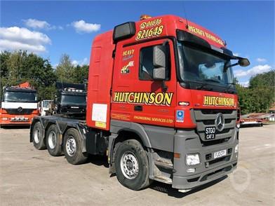 2013 MERCEDES-BENZ ACTROS 4165 at TruckLocator.ie