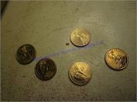 PRESIDENTIAL COINS