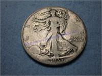 1935P STANDING LIBERTY