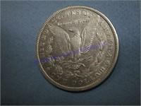 1891D PEACE DOLLAR