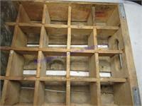 PEPSI WOOD BOX
