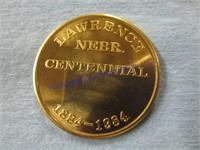 LAWRENCE CENTENNIAL COIN