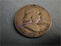 1952D FRANKLIN DOLLAR