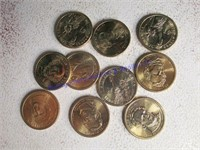 PRESIDENTIAL GOLD COINS