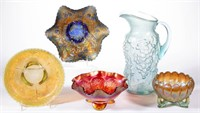 Good collection of carnival glass