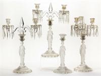 Baccarat Madonna candleabra