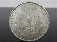 1900-P Morgan Silver Dollar