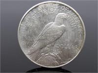 1923 - D Peace Dollar