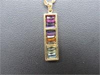 18k Rainbow Collection Pendant