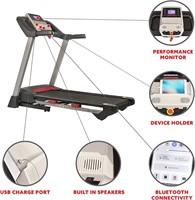 Sunny Health & Fitness Electric Folding Treadmill