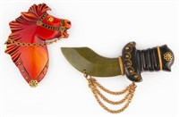 Rare Bakelite jewelry, from the Breckel collection