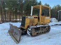 John Deere 450G Dozer Online Auction