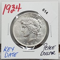 Elite Collectibles Coins & Fine Jewelry Auction Tues 1/12