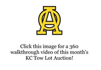 1-19-2021 KC Tow Lot Auction