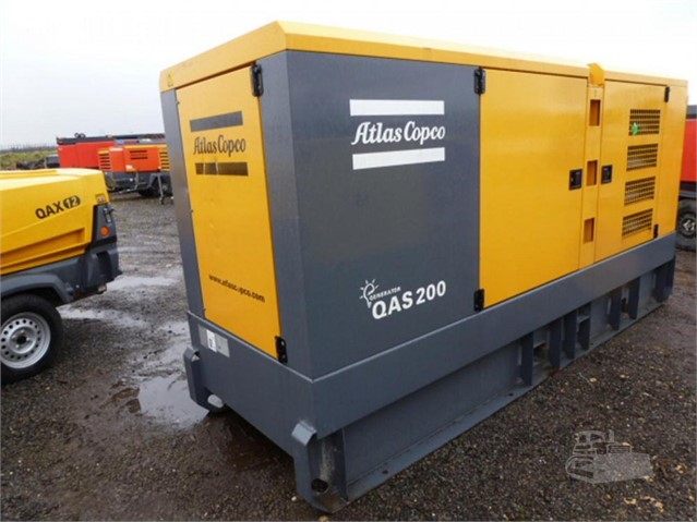 2012 ATLAS COPCO QAS200 at www.used-compressors.co.uk