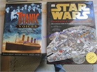 STAR WARS & TITANIC BOOKS