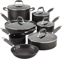 12-pc. Hard-Anodized Nonstick Cookware
