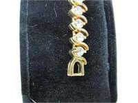 4.00ct White Topaz Bracelet