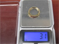 18k Rainbow Collection Ring