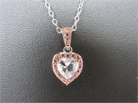 2 ct Topaz Designer Necklace